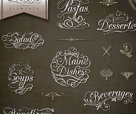 Coffee Calligraphic 2 vector