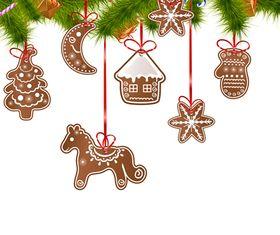 Christmas cute elements vectors