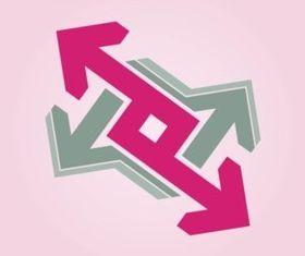 Arrows Logo vector