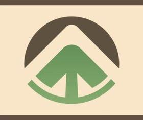 Abstract Arrow Icon vector graphics