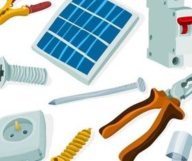 Electrical Items vector