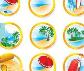 Travel Symbols vector