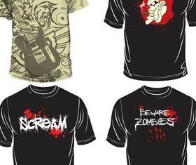 T-shirts Designs Illustration vector
