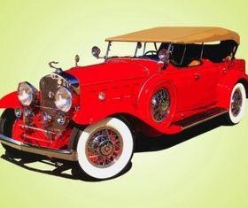 Antique Cadillac vectors
