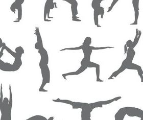Morning Exercises free vectors