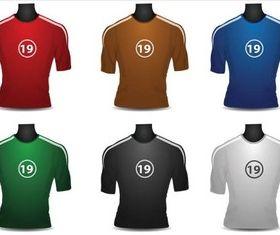 Football Shirts vector graphic