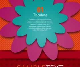 color paper cut Background vectors graphic