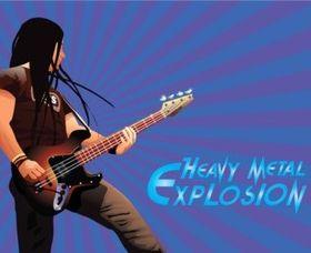 Heavy Metal vector material