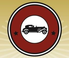 Vintage Car Icon vectors