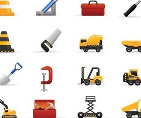 Construction Icons vector material