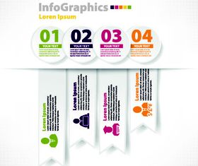 Modern infographics background 1 graphics vector graphic