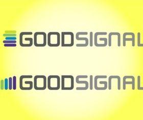 Good Signal Text Art vector