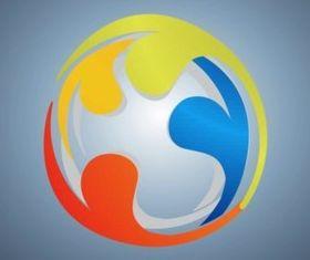 Circular Logo vectors graphic