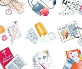 Medical Stuff vectors material