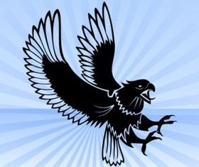 Eagle Attack vector design