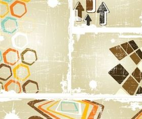 Mottled creative background vector