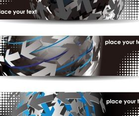 Creative technology background vector