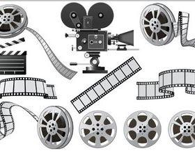 Cinematographic Equipment vector