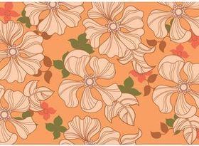 Spring Flower Patterns vector material