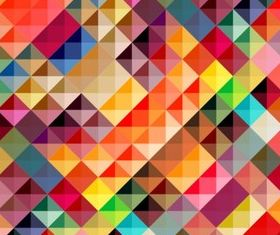 Colorful grid background vector graphic