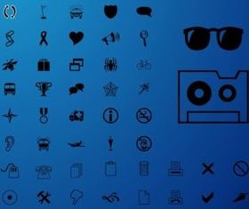 Minimal Icons vector