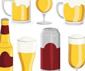Different Beer Capacity Vector design vectors