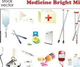 Medicine graphic vectors