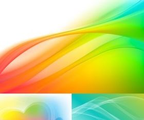 Colorful fantasy background creative vector