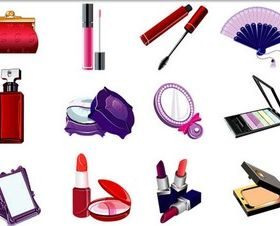 Women Cosmetics design vectors
