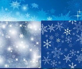 Beautiful snowflake background vector
