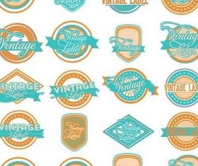Color Labels free vector