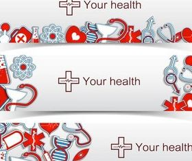 Medical Banners graphic vector
