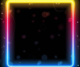 Shiny Neon Backgrounds vectors