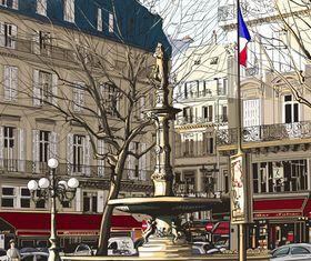 City background design 4 vector