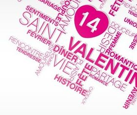 Valentines Inscription design 2 vectors