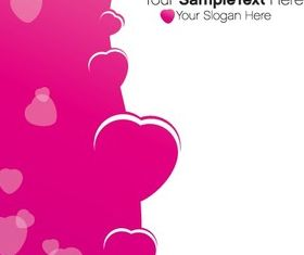 Cute Valentines Background 1 vector