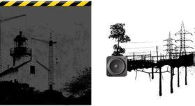 Urban whth music vector