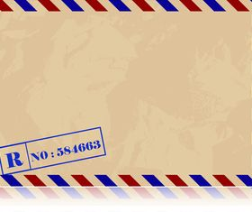 Vintage Envelopes free 1 vector