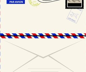 Vintage Envelopes free 2 vector