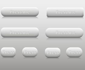 Web Buttons vector design