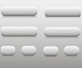 Web Buttons vector design