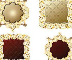 Frames Vintage free design vectors