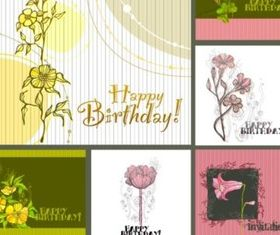 Fashion and elegant Hand drawn floral background vector