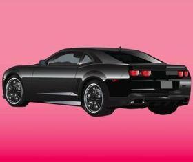 Shiny Car vector