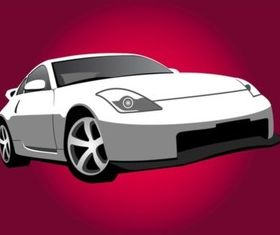 Nissan Car Illustration vector