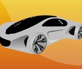 Futuristic Car design vectors