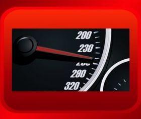 Speedometer Graphics set vector