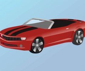 Chevrolet Camaro vector graphics