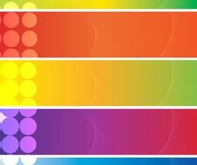 Stylish Abstract Banners Vector vector
