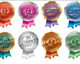 Gold Silver Awards Vector vector
